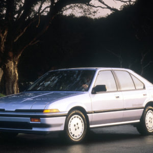 1986 Acura Integra RS 5-door.