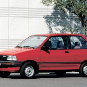 1985 Mazda 121 Service And Repair Manual