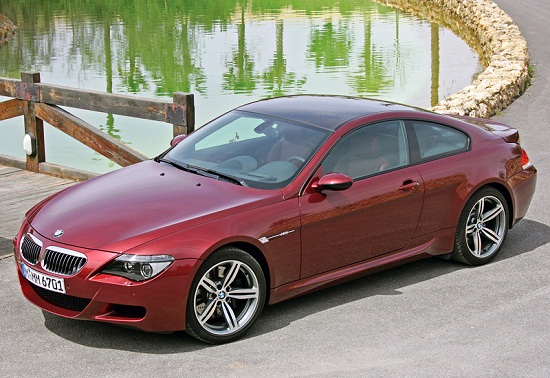 2004 BMW M6 E63; top car design rating and specifications