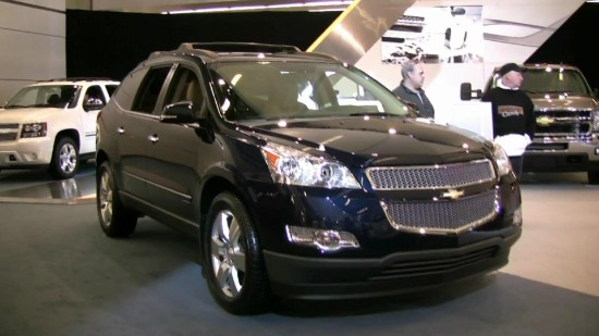 2012 Chevrolet Traverse Service And Repair Manual