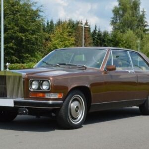 1977 Bentley Camargue Service And Repair Manual