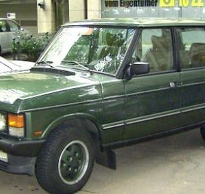 1984 Land Rover Range Rover 1st gen Service And Repair Manual